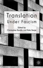 Translation Under Fascism