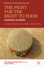 The Fight for the Right to Food: Lessons Learned