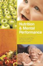 Nutrition and Mental Performance: A Lifespan Perspective
