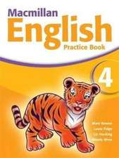 Macmillan English 4 Practice Book with CD-ROM