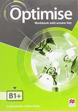 Optimise B1+ Workbook with key