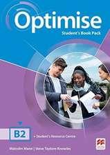 Mann, M: Optimise B2 Student's Book Pack