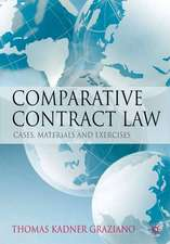 Comparative Contract Law: Cases, Materials and Exercises