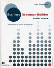 Business Gram Builder Student's Book Pack New Edition