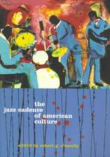 The Jazz Cadence of American Culture (Paper)