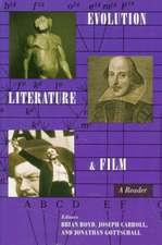 Evolution, Literature, and Film – A Reader