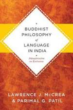 Buddhist Philosophy of Language in India – Jnanasrimitra on Exclusion