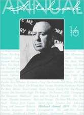 Hitchcock Annual – Volume 16