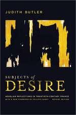 Subjects of Desire – Hegelian Reflections in Twentieth–Century France