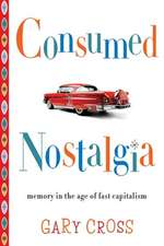 Consumed Nostalgia – Memory in the Age of Fast Capitalism