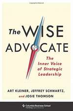 The Wise Advocate – The Inner Voice of Strategic Leadership