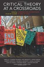 Critical Theory at a Crossroads – Conversations on Resistance in Times of Crisis