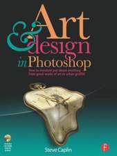 Art & Design in Photoshop [With CDROM]:  20 Golden Years of Disney Master Classes