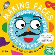 Making Faces: A Sticker Book