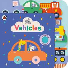 Baby Touch: Vehicles Tab Book