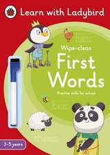 First Words: A Learn with Ladybird Wipe-Clean Activity Book 3-5 years