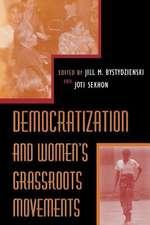 Democratization and Women S Grassroots Movements
