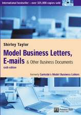 Model Business Letters, E-mails & Other Business Documents