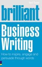 Taylor, N: Brilliant Business Writing