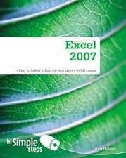 Microsoft Excel 2007 in Simple Steps