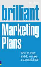 Brilliant Marketing Plans