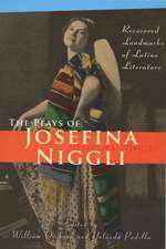 The Plays of Josefina Niggli: Recovered Landmarks of Latino Literature