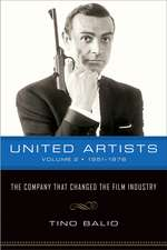 United Artists, Volume 2, 1951–1978: The Company That Changed the Film Industry