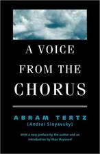 A Voice from the Chorus