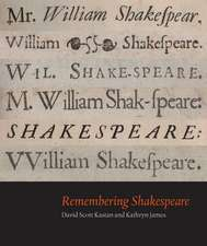 Remembering Shakespeare