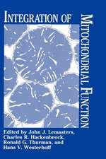 Integration of Mitochondrial Function