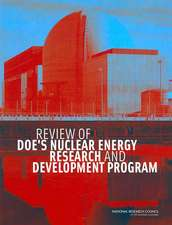 Review of Doe's Nuclear Energy Research and Development Program