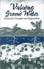 Committee on Valuing Ground Water: VALUING GROUND WATER