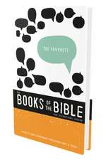 NIV, The Books of the Bible: The Prophets, Hardcover: Listen to God's Messengers Proclaiming Hope and   Truth