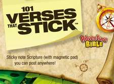 101 Verses that Stick for Kids based on the NIV Adventure Bible: Bible Verses for Your Locker or Home