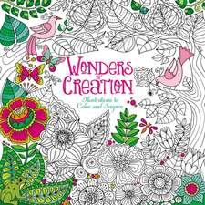 Wonders of Creation Coloring Book: Illustrations to Color and Inspire