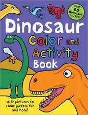Dinosaur Color and Activity Book:  Funny Faces