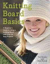 Knitting Board Basics
