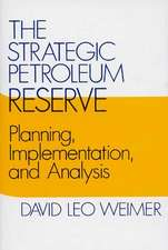 The Strategic Petroleum Reserve: Planning, Implementation, and Analysis