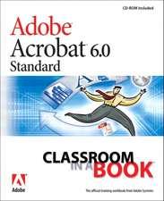 Adobe Acrobat 6.0 Standard Classroom in a Book