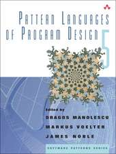Pattern Languages of Program Design 5