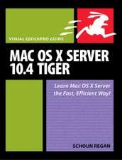 Mac OS X Server 10.4 Tiger:Visual QuickPro Guide