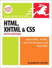 HTML, XHTML, and CSS, Sixth Edition:Visual QuickStart Guide