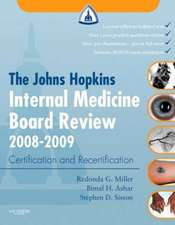 The Johns Hopkins Internal Medicine Board Review 2008-2009: with Online Exam Simulation
