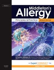 Middleton's Allergy: Principles and Practice. 2 volumes