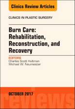 Burn Care: Reconstruction, Rehabilitation, and Recovery, An Issue of Clinics in Plastic Surgery