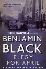 Black, B: Elegy for April