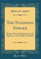 The Finishing Stroke: Being a Short Supplement to the Queries to the People of Ireland (Classic Reprint)