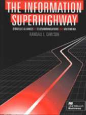 The Information Superhighway: Strategic Alliances in Telecommunications and Multimedia