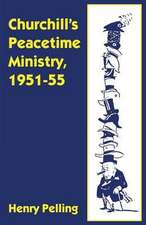 Churchill's Peacetime Ministry, 1951–55