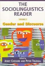 The Sociolinguistics Reader